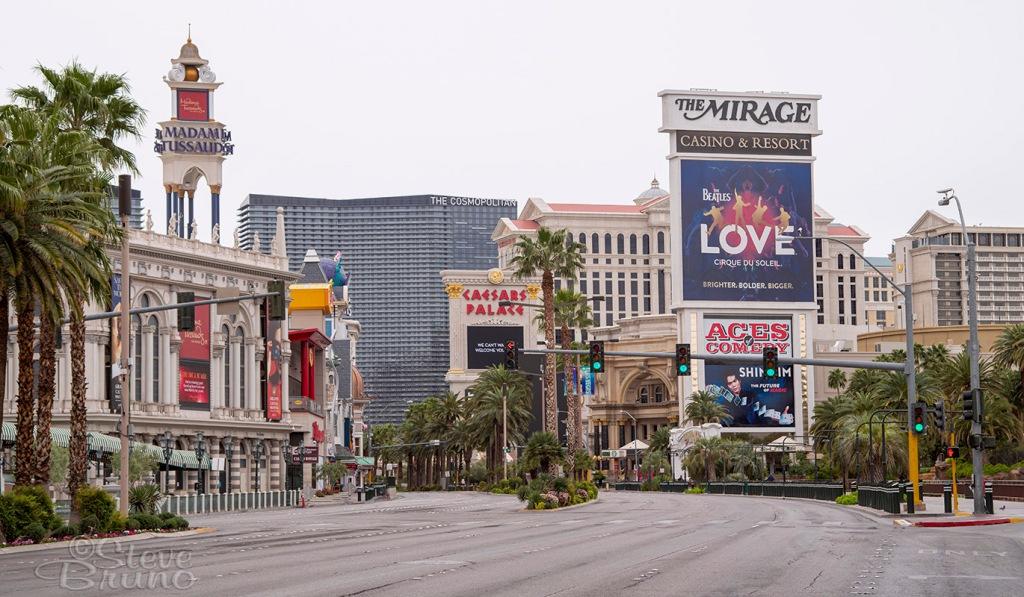The Strip, quarantine, Las Vegas, Steve Bruno