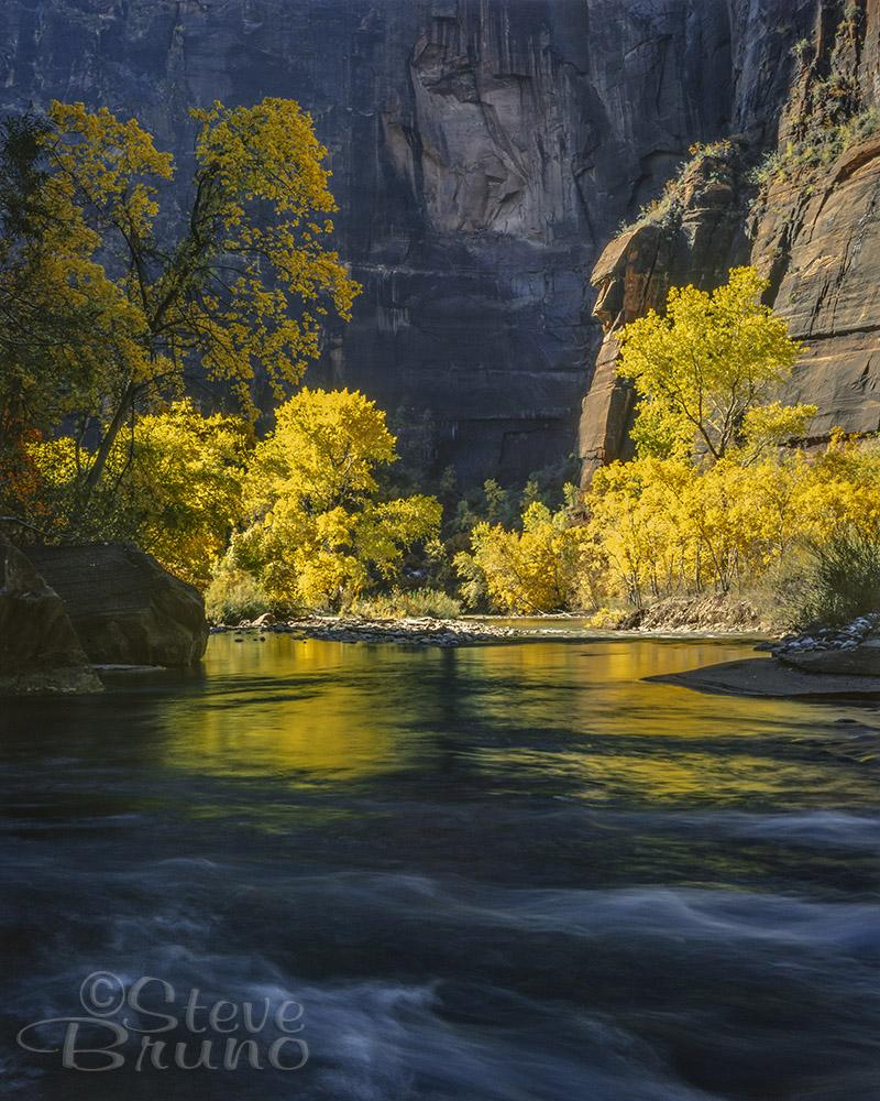 Zion, autumn, National Parks, Utah, Steve Bruno