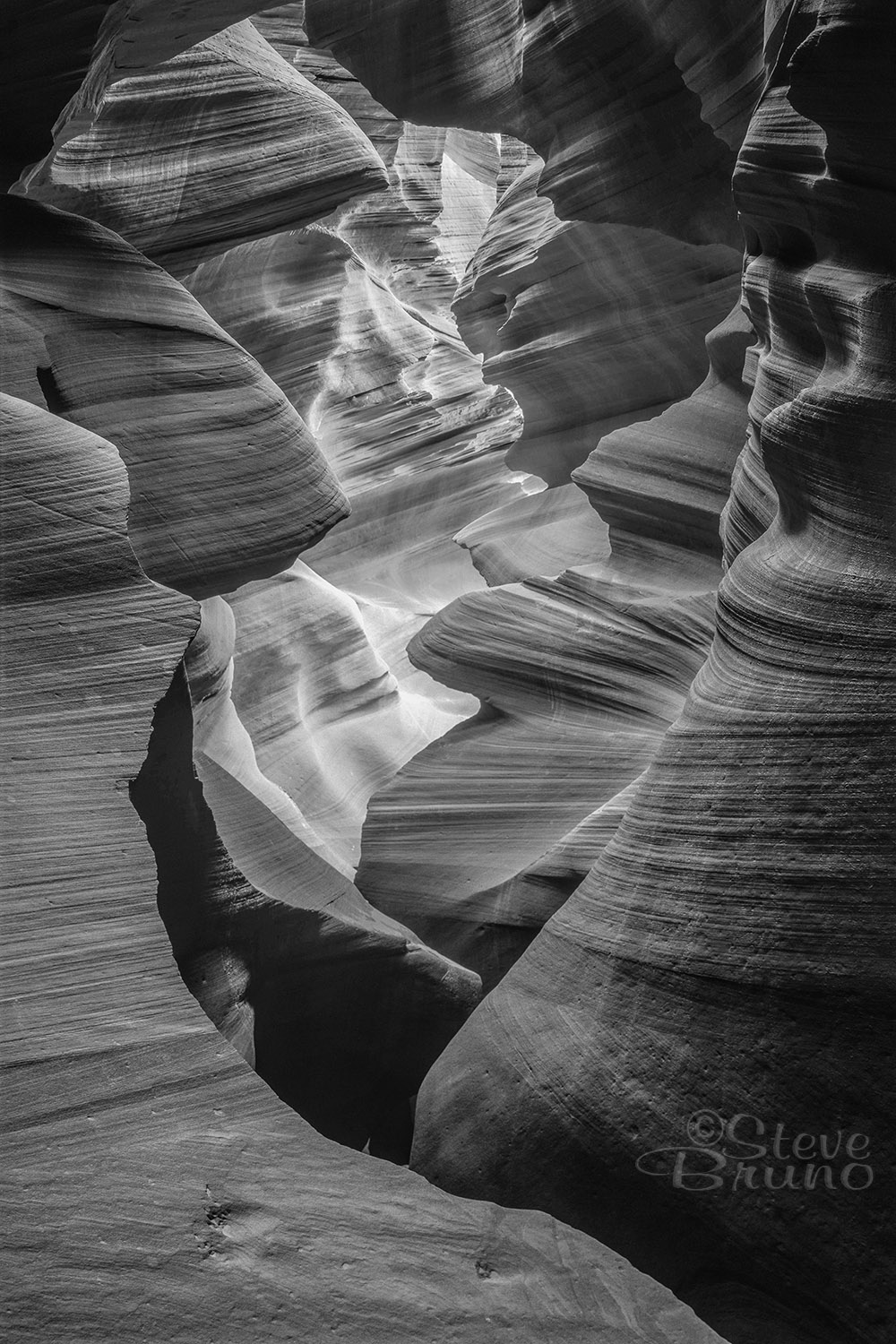 Antelope Canyon, Fine Art, Arizona, Steve Bruno